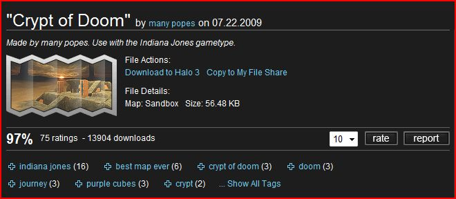 Halo 3 Forged Map: Crypt of Doom | Halo 3 Blog